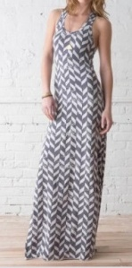 croquet maxi dress