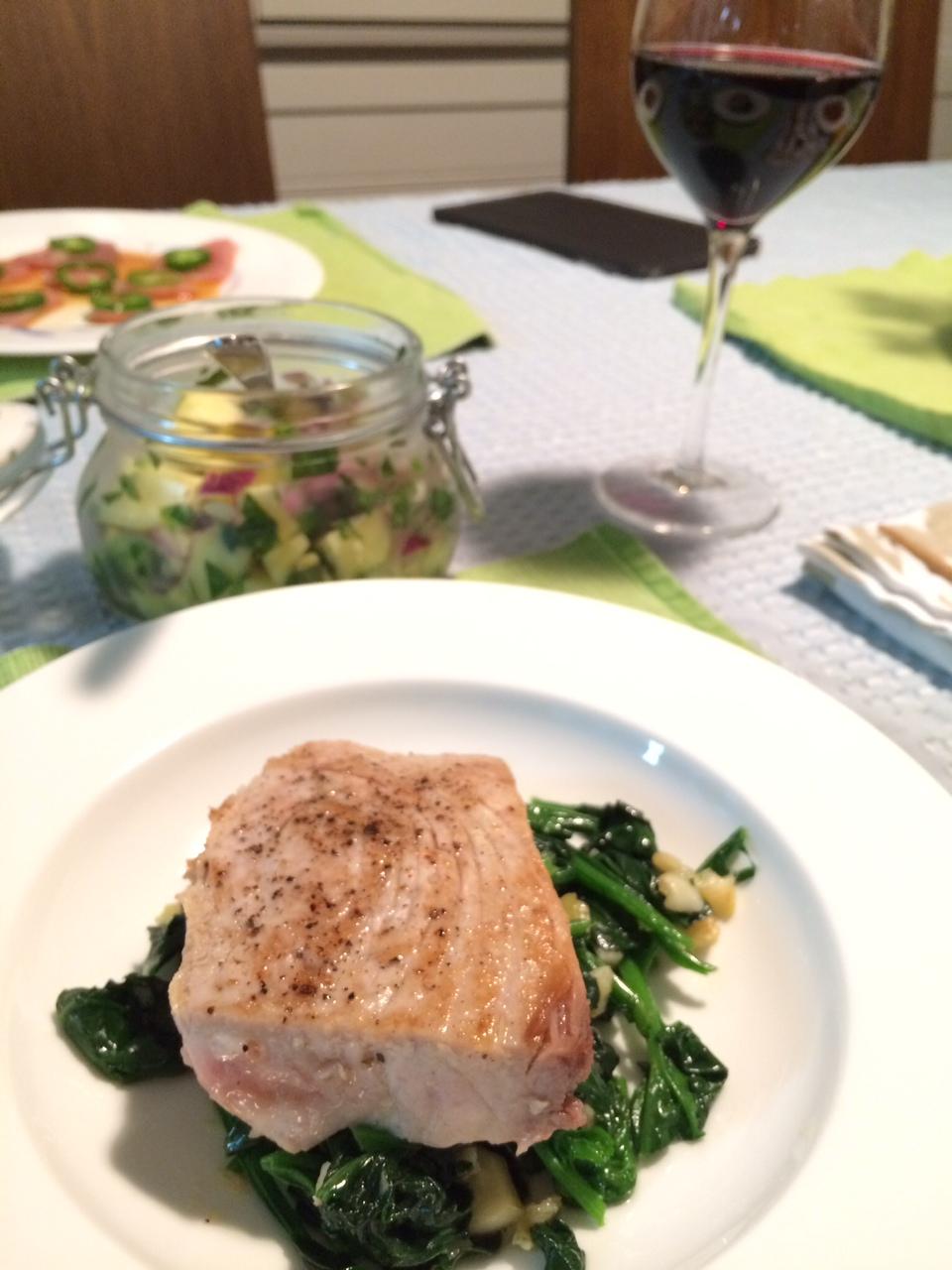 Eats polka dot fish and pineapple salsa sugarplumfairyblog for Opah fish recipes